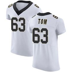 Nike Cameron Tom New Orleans Saints Men's Elite White Vapor Untouchable Jersey