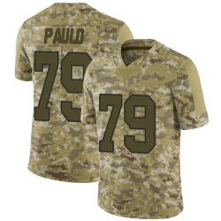 Nike Darrin Paulo New Orleans Saints Men's Limited Camo 2018 Salute to Service Jersey